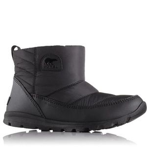 NEW Sorel Whitney Camp Non Shell Pull On Boot Black size 7